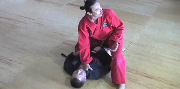 Knee on Belly Grappling Combos